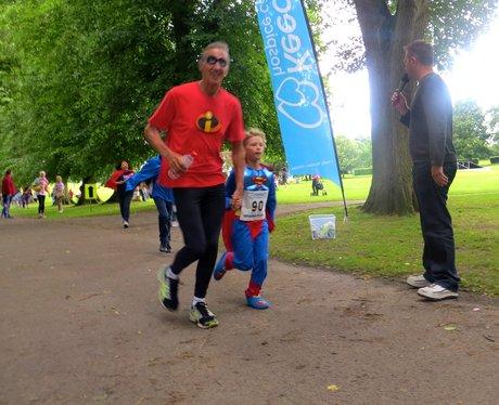 Superhero fun run
