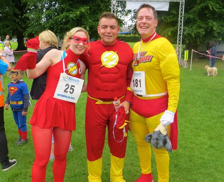 Superhero fun run