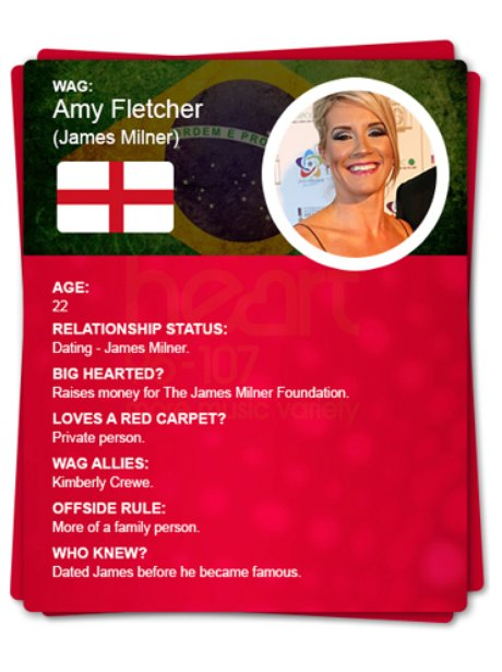 The WAG Files - Amy Fletcher