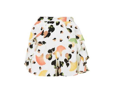 topshop, flower, shorts