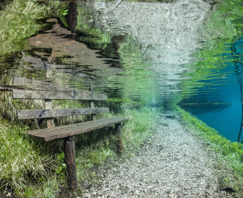 Submerged Park in Austria