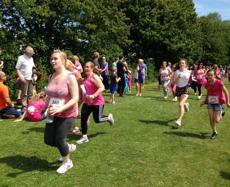 Eastbourne Race for Life - Cheerzone
