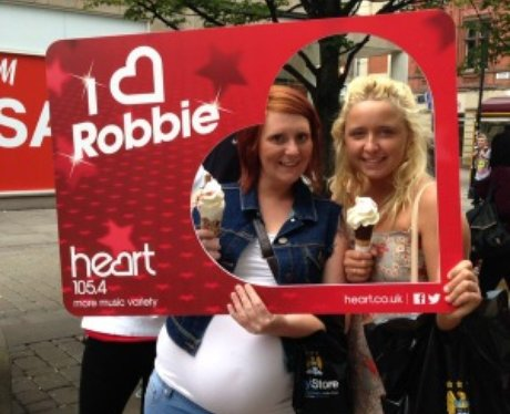 Heart Angels Robbie Williams Giveaway