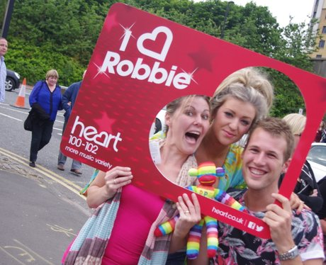 Heart Angels: Robbie Williams in Newcastle