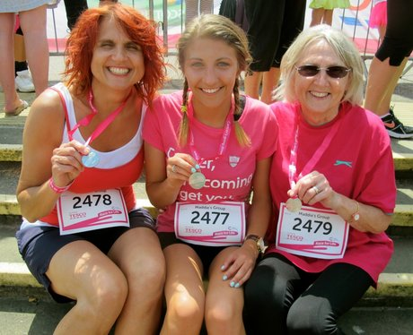 Well done to all the amazing ladies who ran, walke