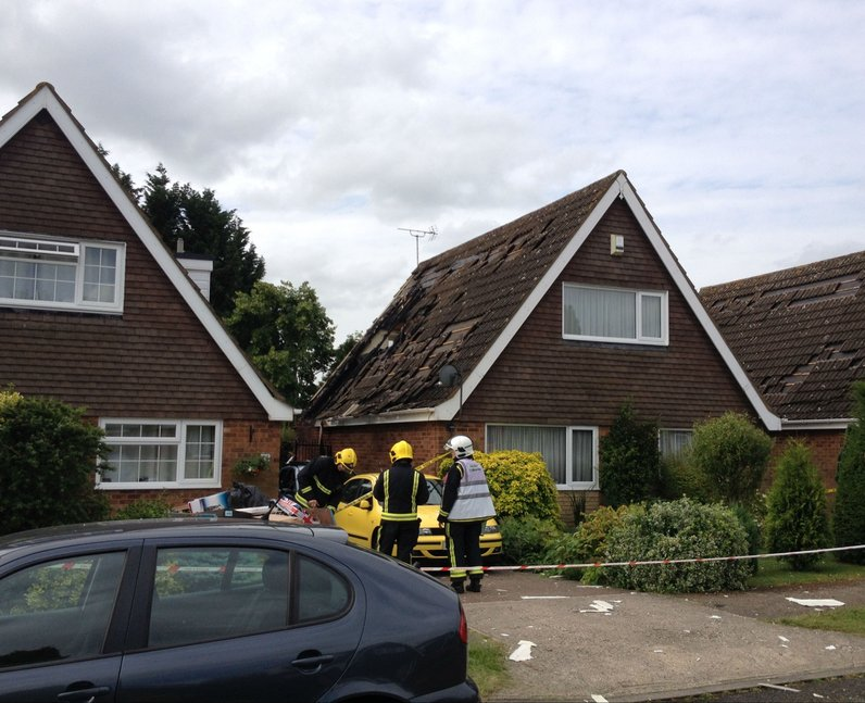 House Explosion Bletchley