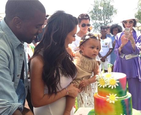 Kim and Kanye celebrate North's birthday