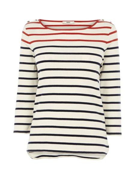 Oasis Stripe Breton Top
