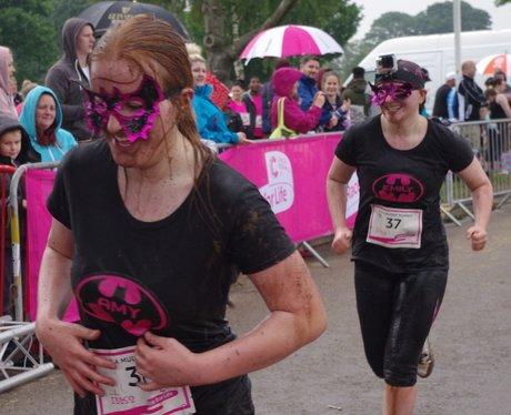 Pretty Muddy Coventry: Finish Line