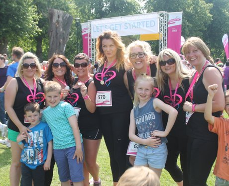 Race for Life Gloucester - The Finishers 2014