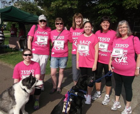 Race for Life Gloucester - The Ladies 2014