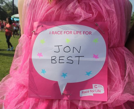 Race for Life Gloucester- The Messages 2014