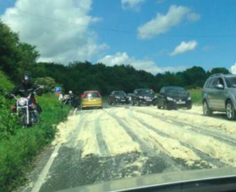 Road, Mash Up, Potato, Road, Block, A64