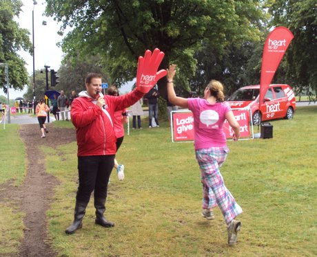 Heart Angels: Bristol Race For Life - The Fin