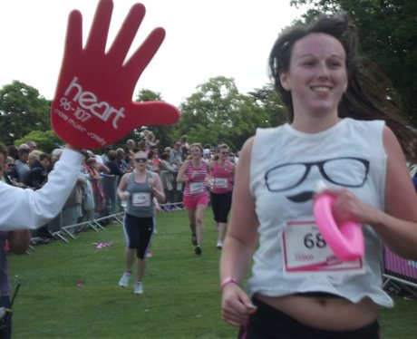Cannon Hill Park: Heart Angel High Five