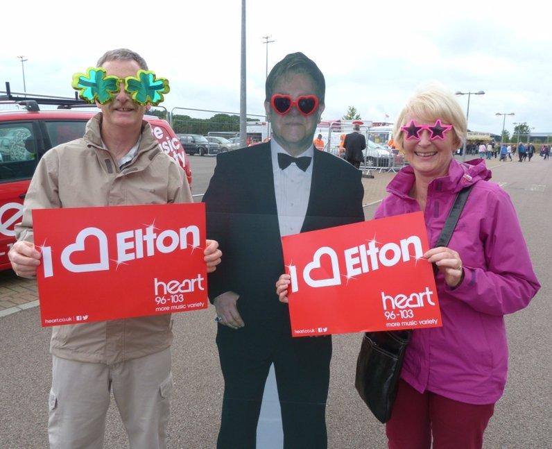 Elton John In Colchester