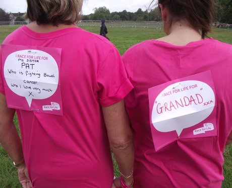 Heart Angels: Bristol Race For Life - The Messages