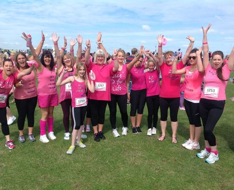 Heart Angels: Herne Bay Race For Life - Pre-Race (
