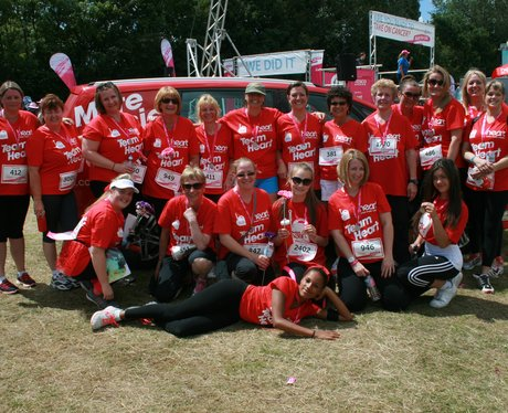 Heart Angels: Race For Life Basildon Afternoon Rac
