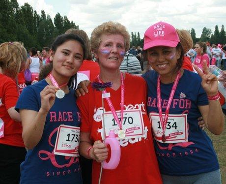 Heart Angels: Race For Life Basildon Morning Race