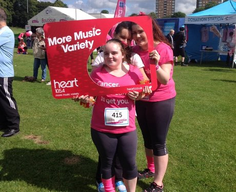 Heart Angels: Race For Life Liverpool 2014