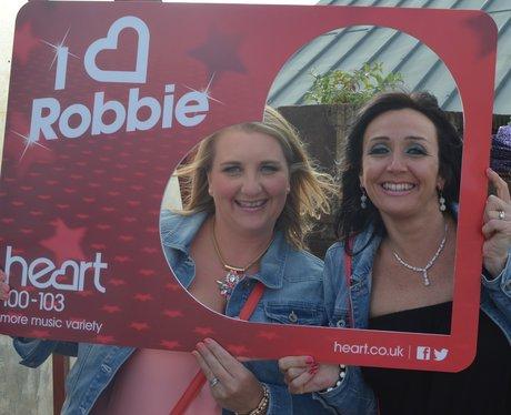 Heart Angels: Robbie Williams Gig