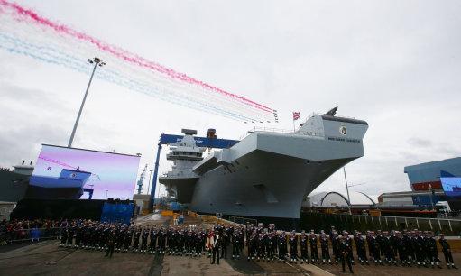 HMS Queen Elizabeth naming