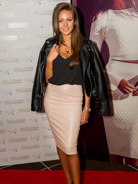 Michelle Keegan Lipsy Launch London 2014