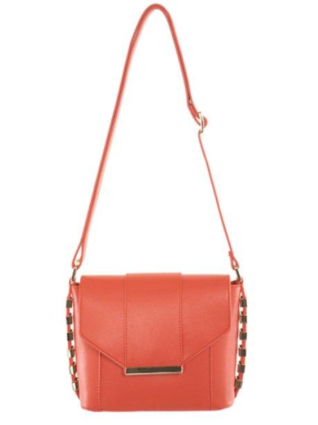 Miss Selfridge Coral Bag