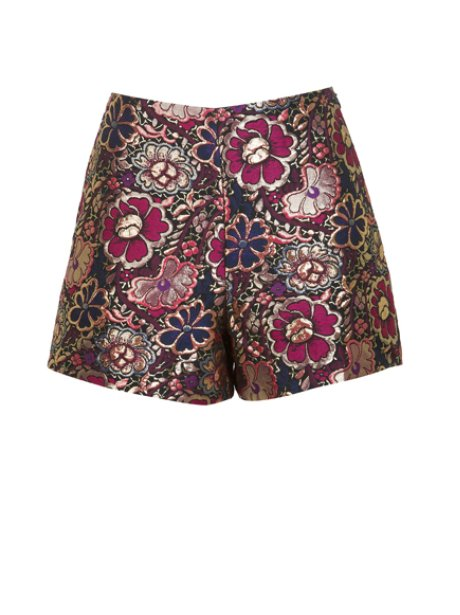 Miss Selfridge Jacquard Shorts