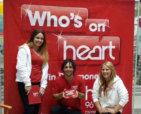 Heart angels in Rhyl to spread the word of who's on heart.