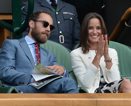 Pippa and James Middleton attend Wimbledon