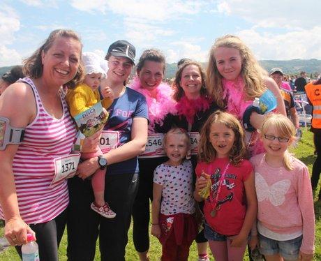 Race for Life Cheltenham - The Finishers 2014