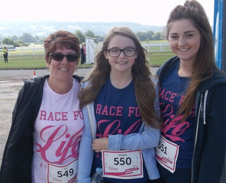 Race for Life Cheltenham - The Ladies 2014