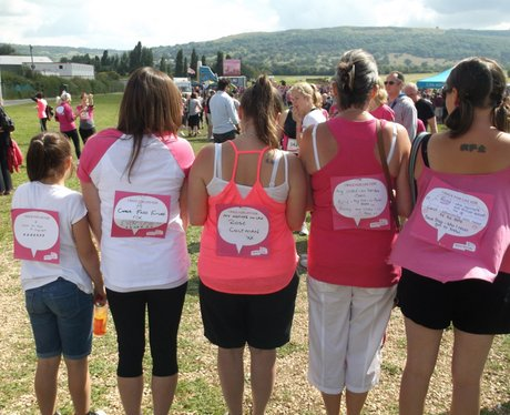 Race for Life Cheltenham - The Messages 2014