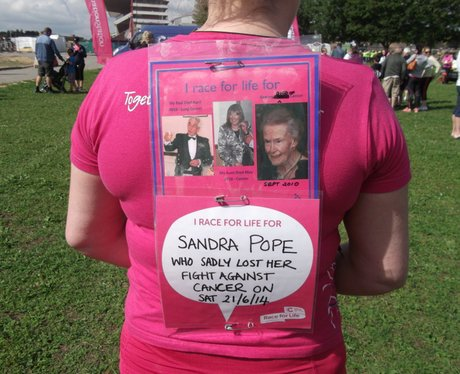Race for Life Cheltenham - The Messages 2014