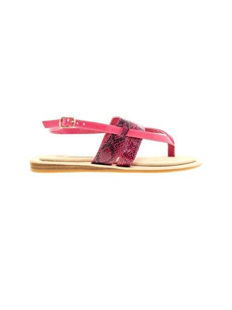 Timeless Snakeskin Sandals