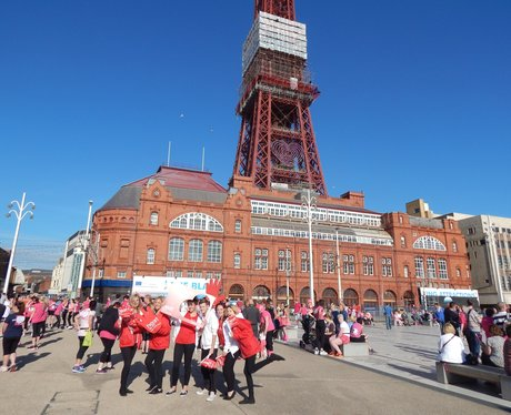 Heart Angels: Blackpool RFL 9th July, Part 1