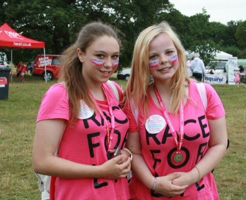 Heart Angels: Race For Life Chelmsford Part 2 (6 J