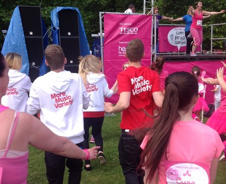Heart Angels: Race For Life Liverpool 06/07/14 Par