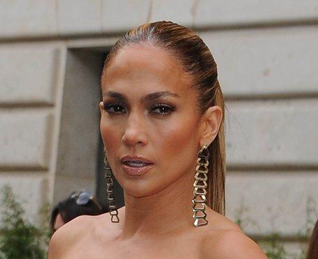 Jennifer Lopez attends fashion show