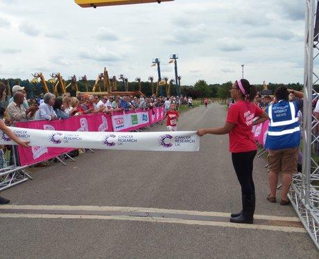 Newbury Race for Life 2014 - Finish Line