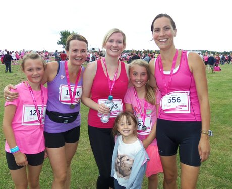 Newbury Race for Life 2014: Finish Line