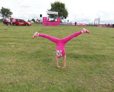 Newbury Race for Life 2014: Finish Line