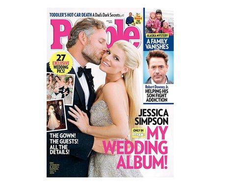 People Magazine Jessica Simpson