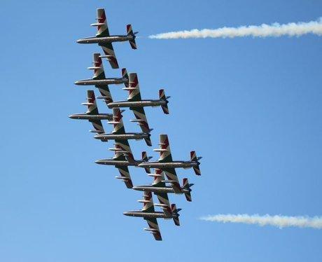 Royal International Air Tattoo: Arrivals Day