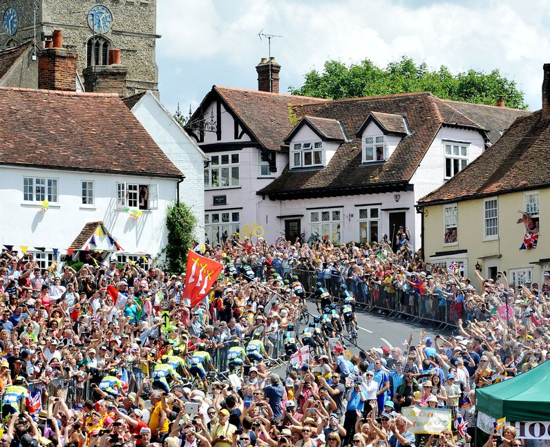 Tour De France: The Race Heads Through Essex