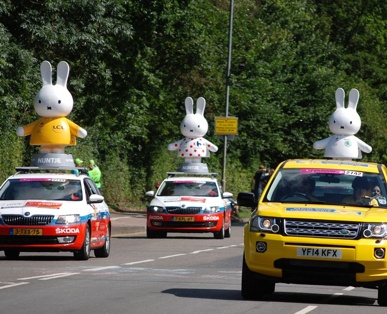 Tour De France: The Race Heads Through Essex