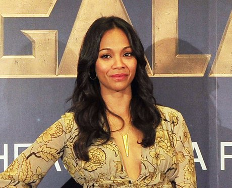 Zoe Saldana at Guardian of the Galaxy