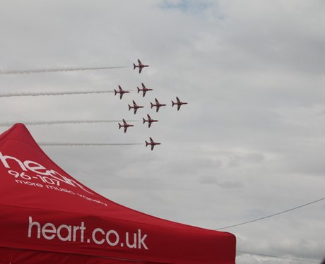 Air Tattoo 2014- Planes in the Sky